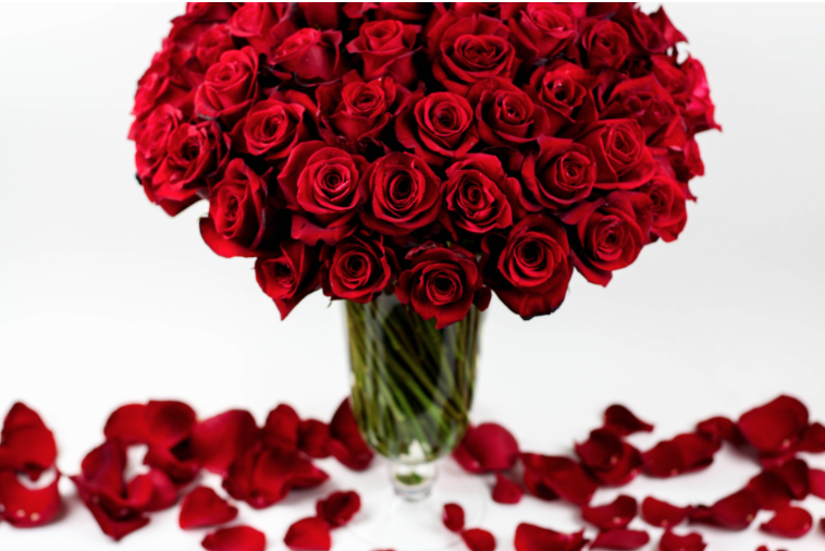 Spectacular Red Roses from Elan Flowers, New York, NY