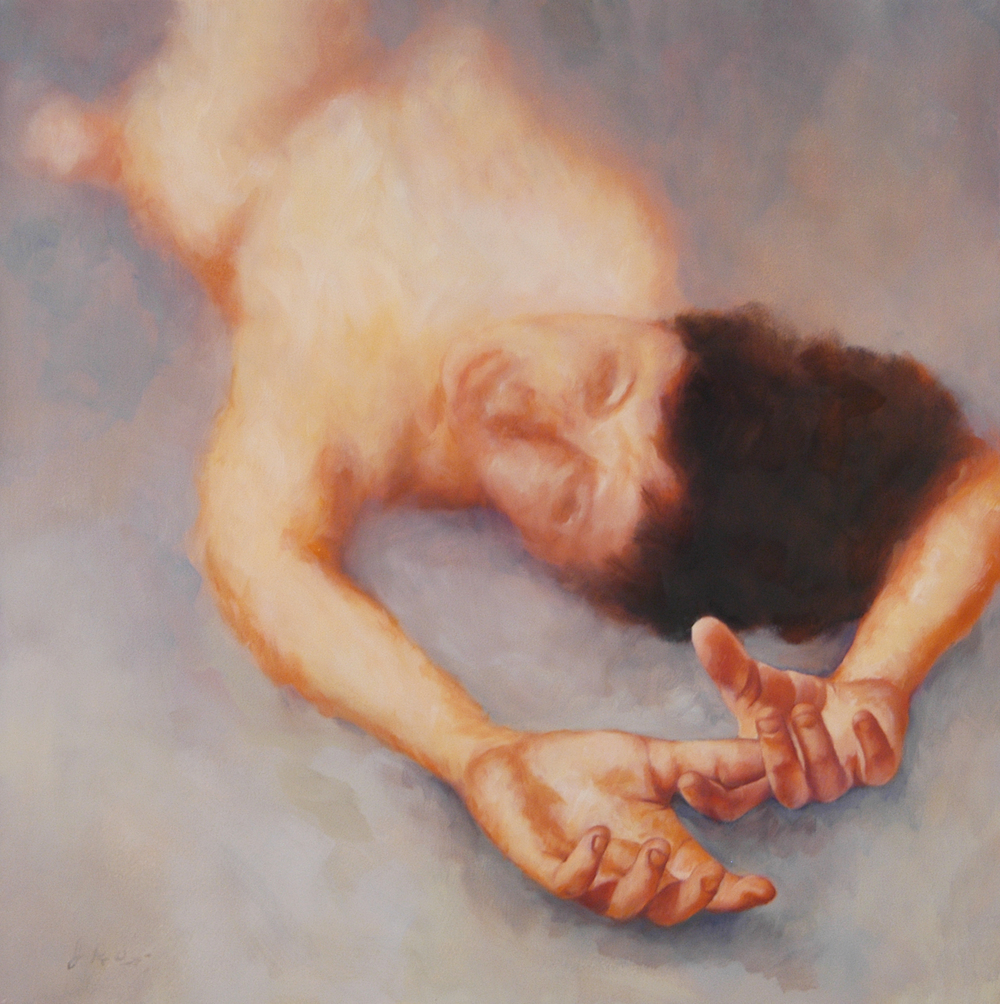 Reclining Figure With Hands Outstretched