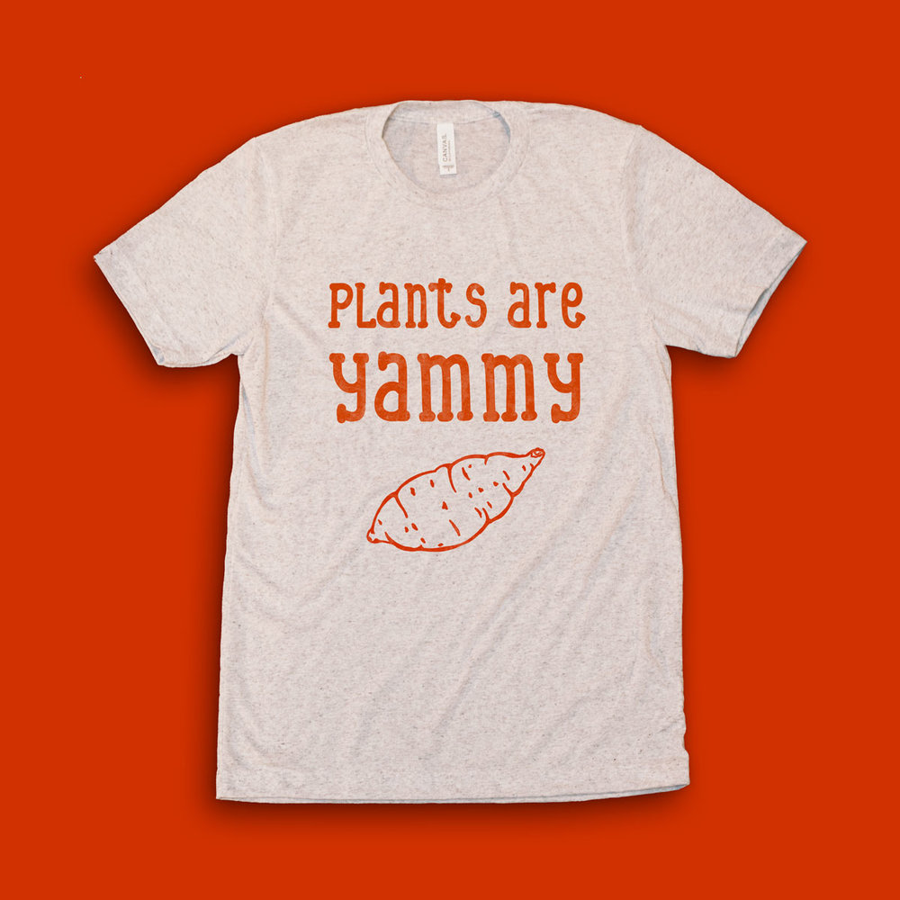 Planty-Good_Vegan-Clothing_Plants-Are-Yammy_Tee_front.jpg