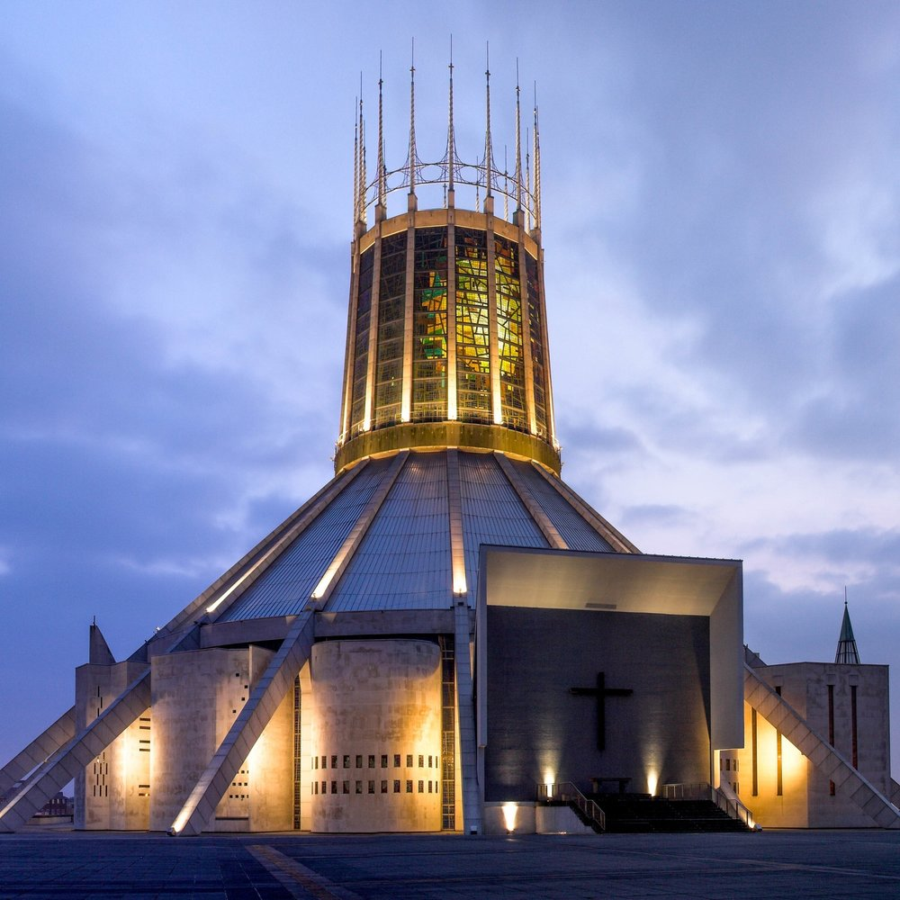 Liverpool Metropolitan Cathedral - Liverpool, UK (Steel Window Repair)