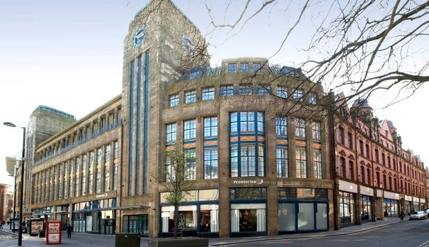 Co-op Building - Newcastle, UK (Steel Window Repair, Timber Window Repair)