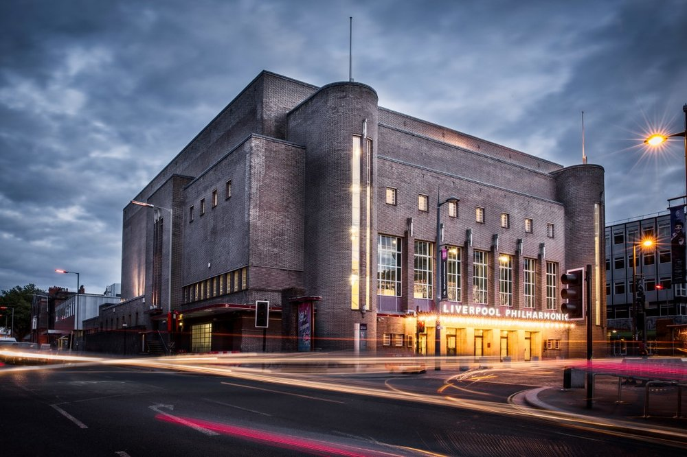 Liverpool Philharmonic Hall - Liverpool, UK (Steel Window Repair, Heritage Window Repair)