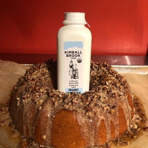 King Arthur Flour's Farmhouse Buttermilk Cake with our Cultured Buttermilk