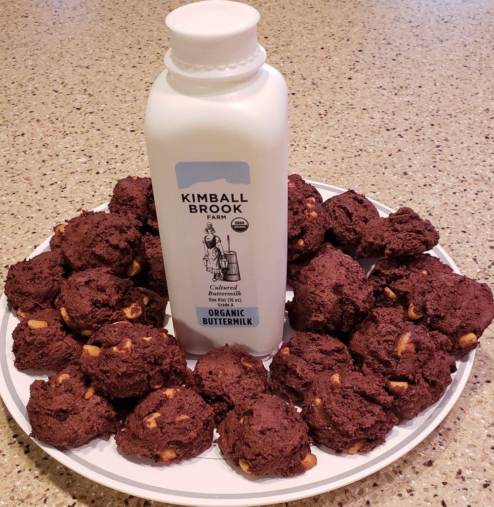 Chocolate Drop Cookies Yum!