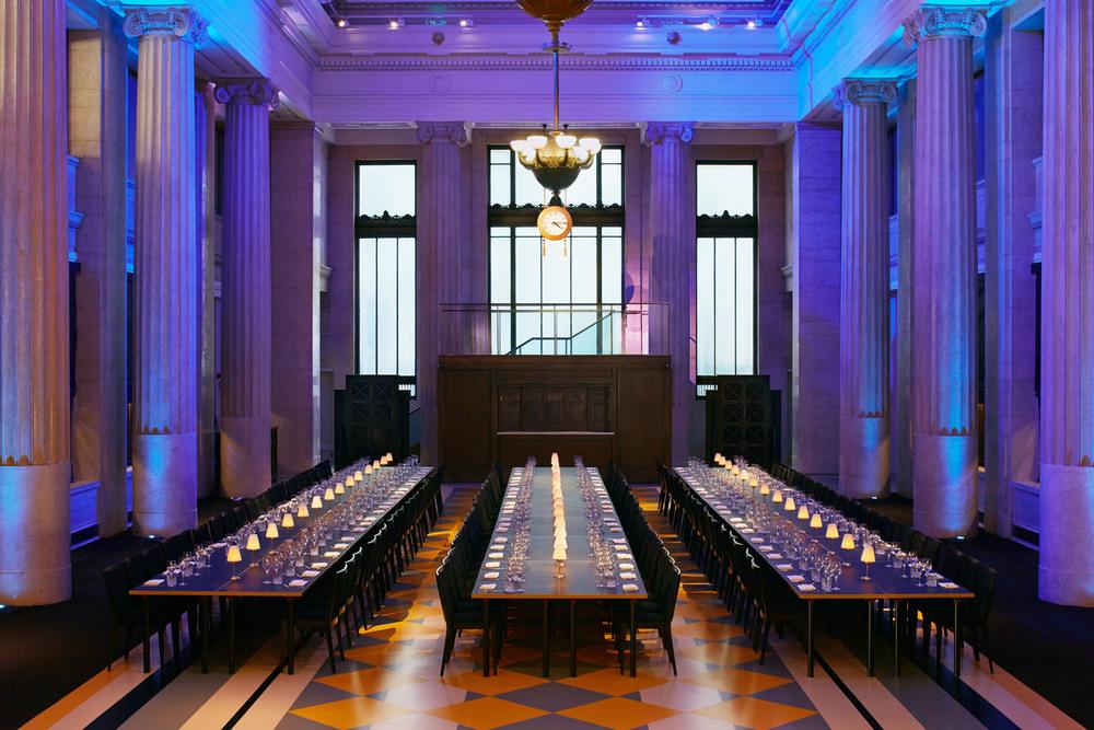 Banking Hall dinner venue