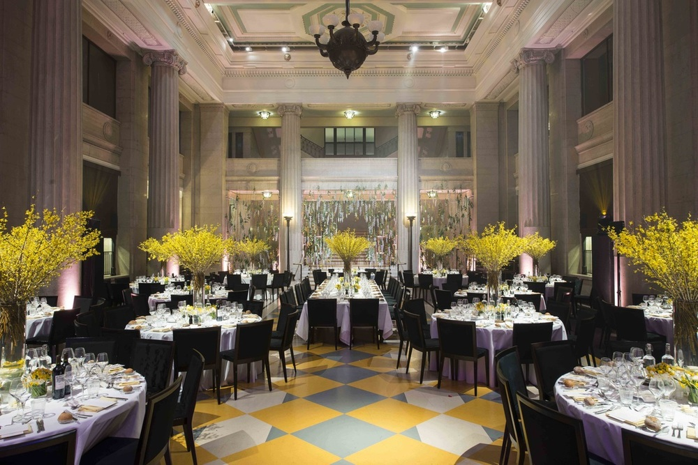 Banking Hall Banquet Hall Flower Arrangement