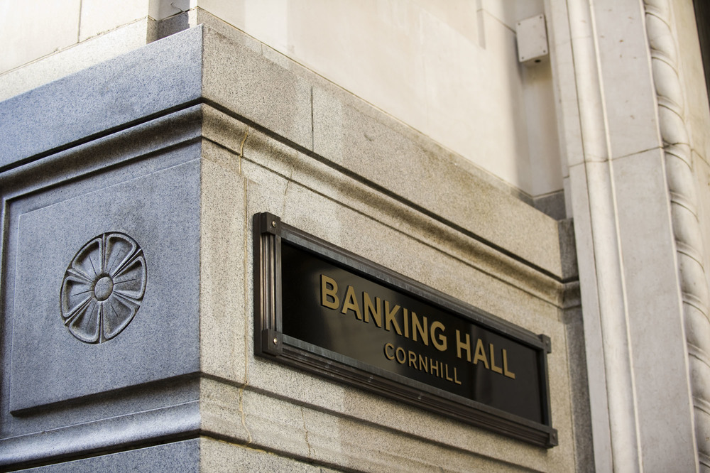 Banking Hall Building Sign