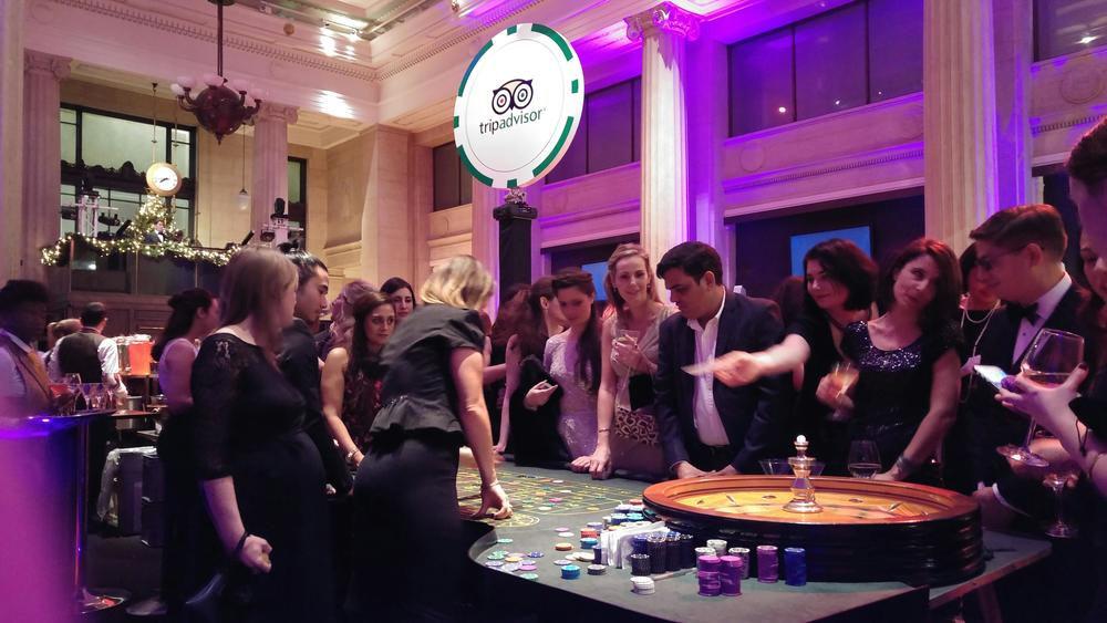 Banking Hall Tripadvisor Party Casino Table and Guests