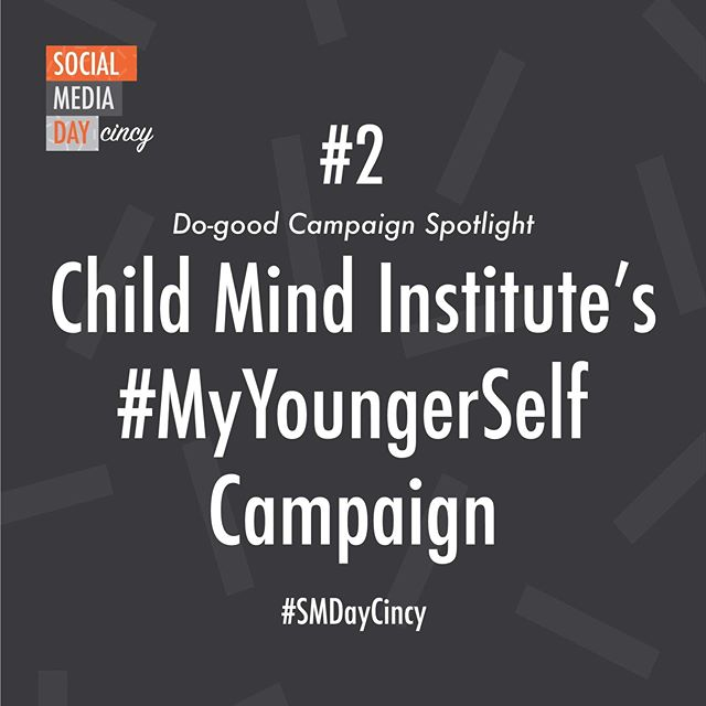 The second do-good campaign we want to feature is the #MyYoungerSelf campaign aimed to impact the public perception of children and families struggling with mental health and learning disorders...(link in bio)