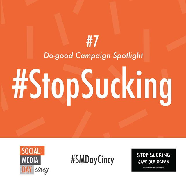 This campaign turned the plastic straw into environment enemy number one while crossing all segments of culture, from sports to entertainment to food and beyond. Read more (link in bio) #SMDayCincy #DoGoodCampaign #StopSucking