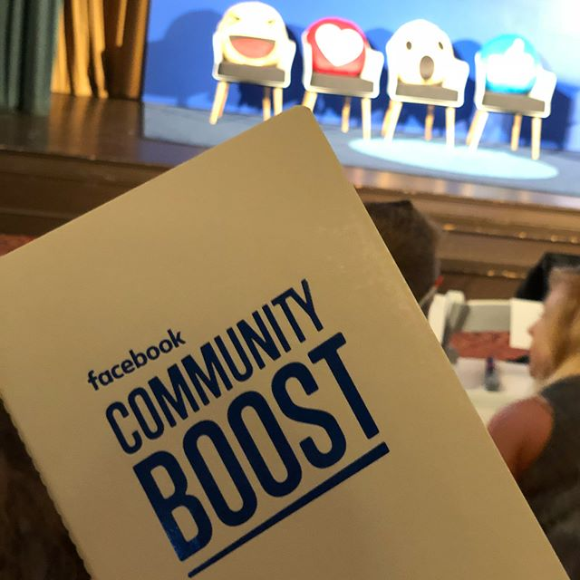 In #Columbus for #facebookcommunityboost! Ready to learn ALL the things.