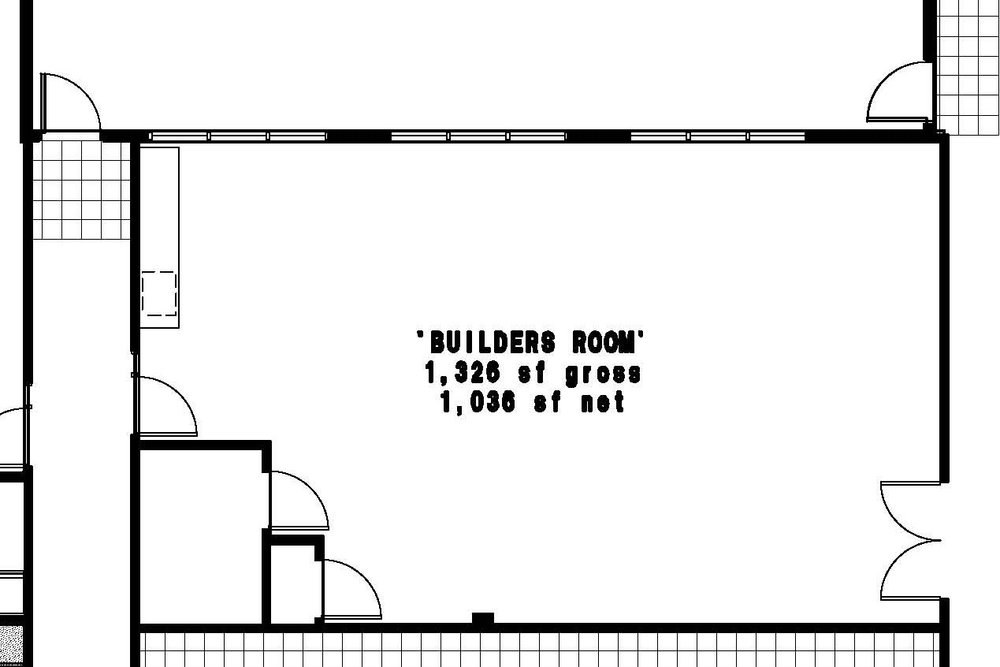 Cornerstone Builders Room