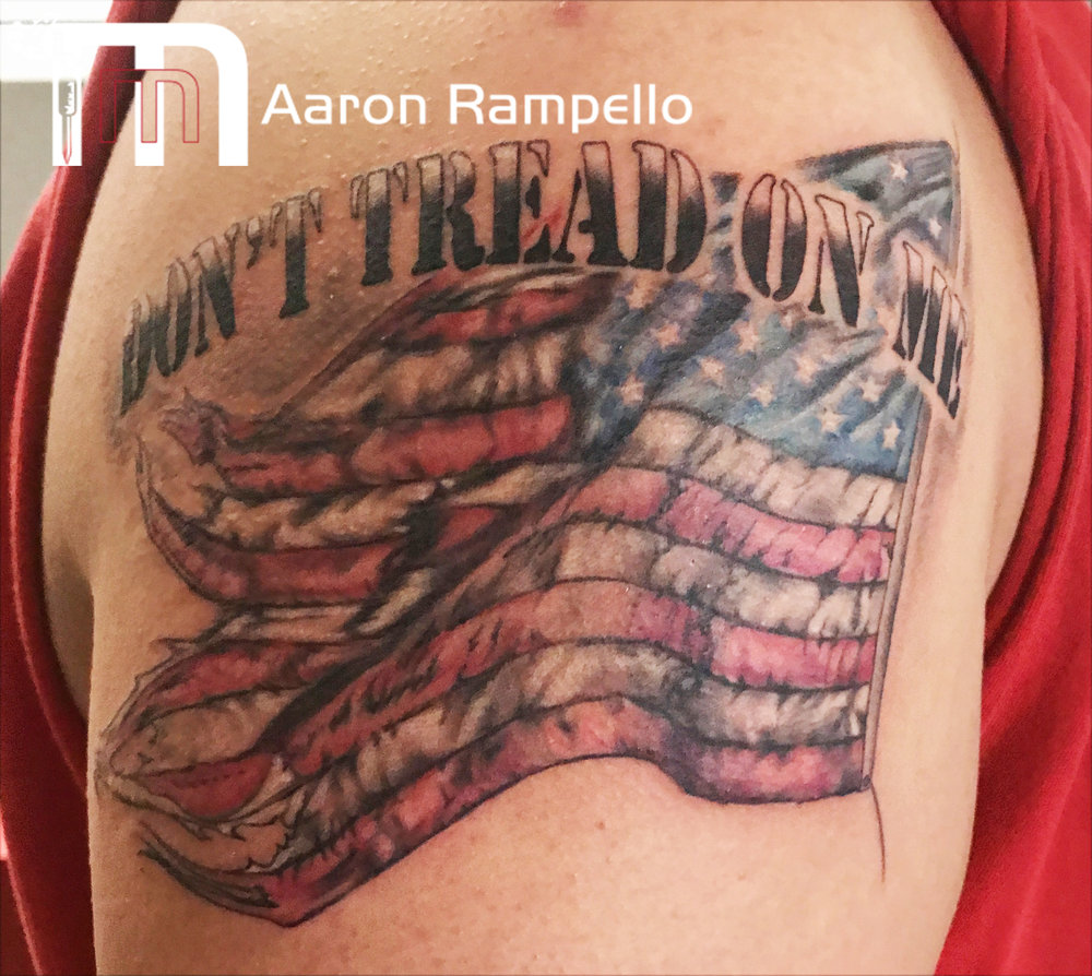 dont tread on me flag masters method tattoo.jpg