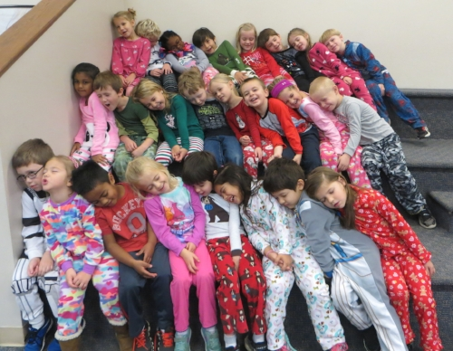 We had so much fun on pajama day!  Check out the photo page for more pictures!