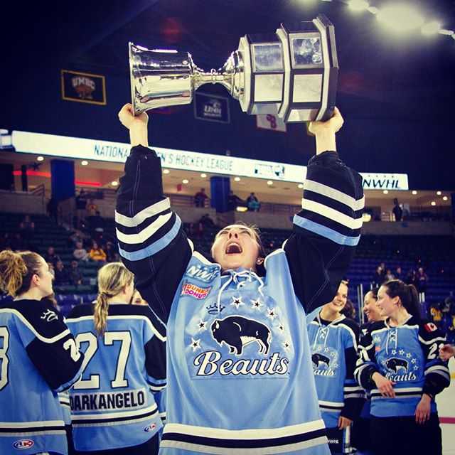 HUGE NEWS: The NWHL Buffalo Beauts have been purchased by the Pegula Sports and Entertainment Group, owners of the Sabres & Bills. Monumental step for women's professional hockey. #hockey #icehockey #nwhl #buffalo #buffalobeauts
