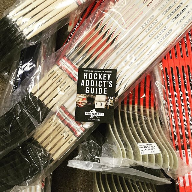 NYC edition now available @westsideskatestick - the only hockey store that matters. #hockey #icehockey #print #nyc