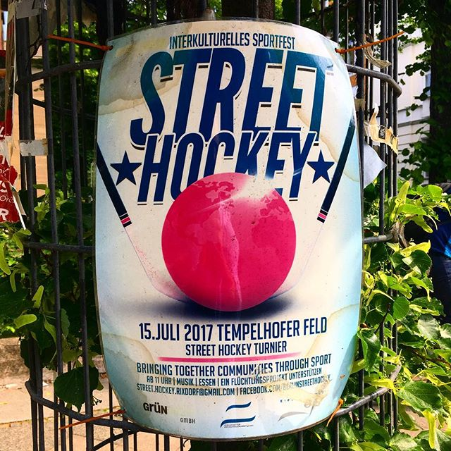 #Berlin #streethockey #hockey