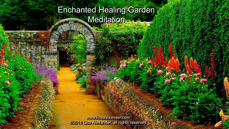 enchanted healing garden meditation cd - Enchanted Garden