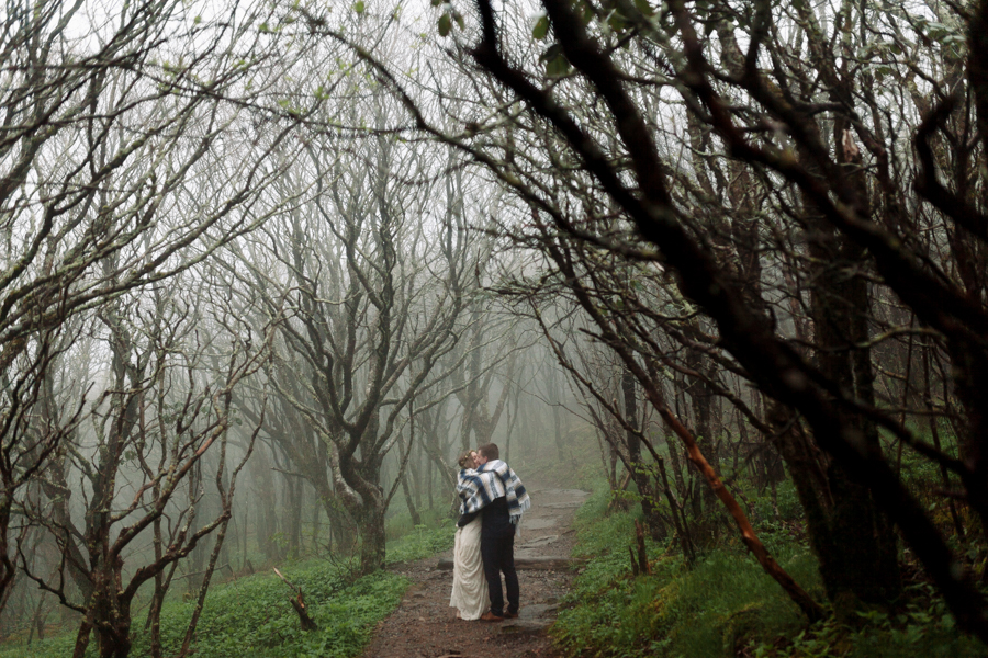 Craggy Gardens Elopement - Of Fate and Chaos - North Carolina Elopement Photographer