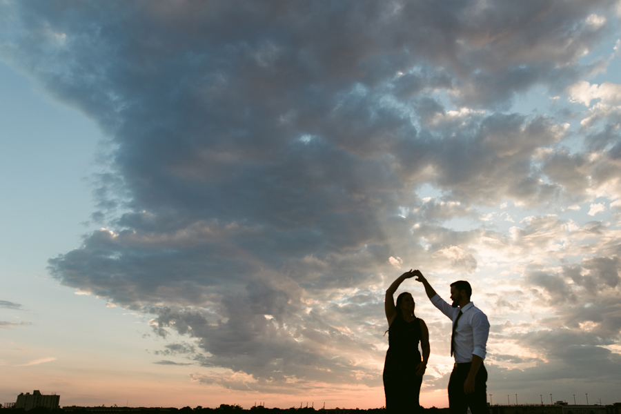 Rooftop Engagement - Ghent - Of Fate and Chaos - Norfolk, VA Wedding Photographer
