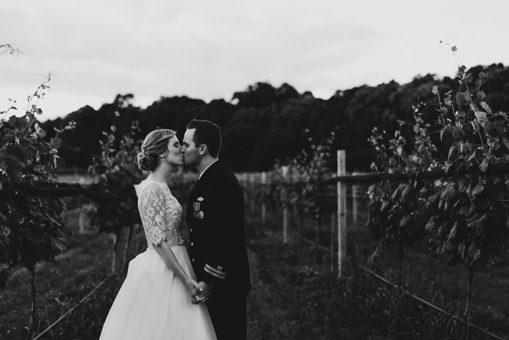 Intimate Williamsburg Winery Wedding - Of Fate and Chaos Photography