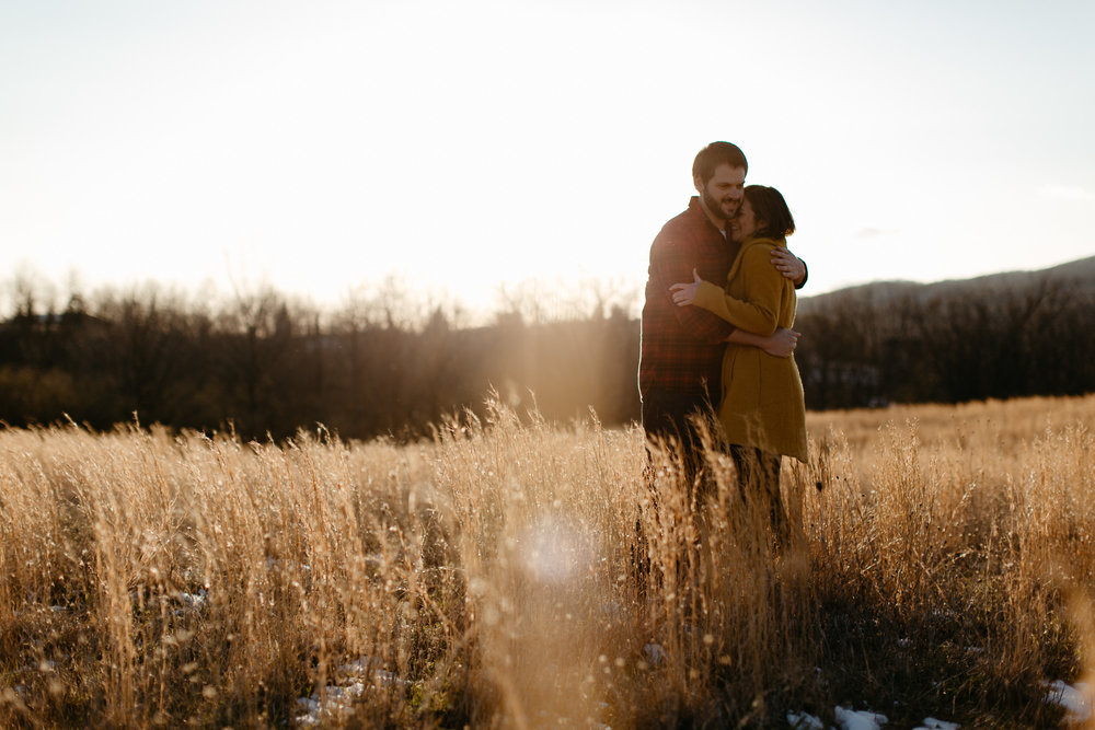 Heritage Park Engagement Photos - Blacksburg Wedding Photography