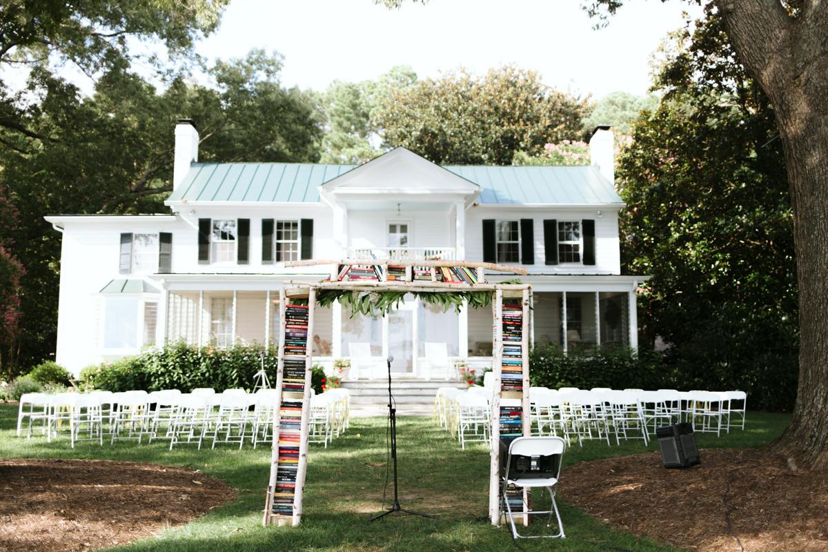 Richmond Virginia Backyard Wedding Lacy Eric Pop Castle