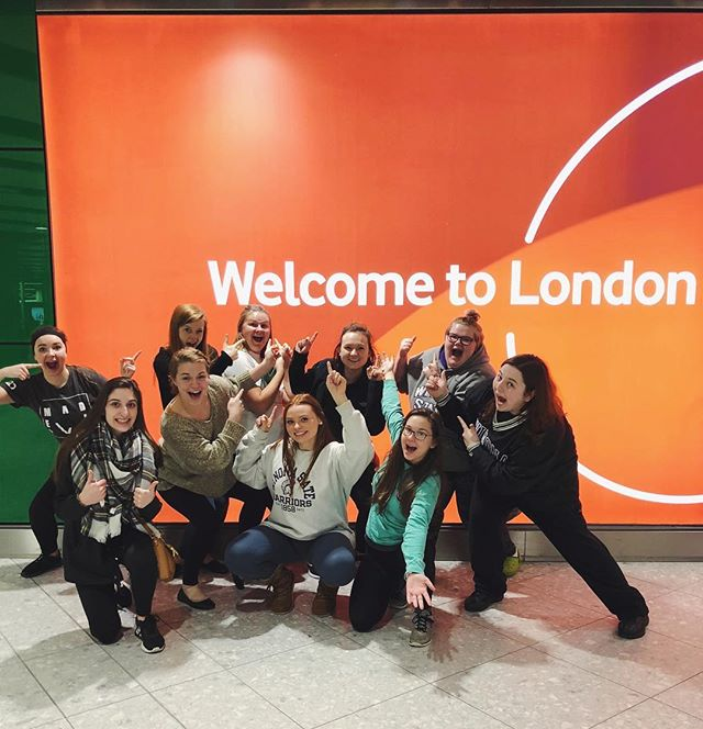 Our H2O London team just made it in early this morning! Keep these ladies in your prayers this week as they share about Jesus on the streets of London #madealiveworldwide