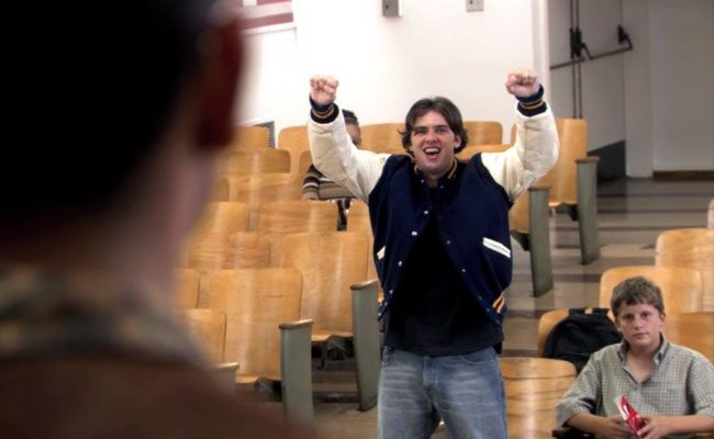 This is Steve Holt, whom I think of whenever I hear Brock Holt. And if you don;t know who this is I pity you.