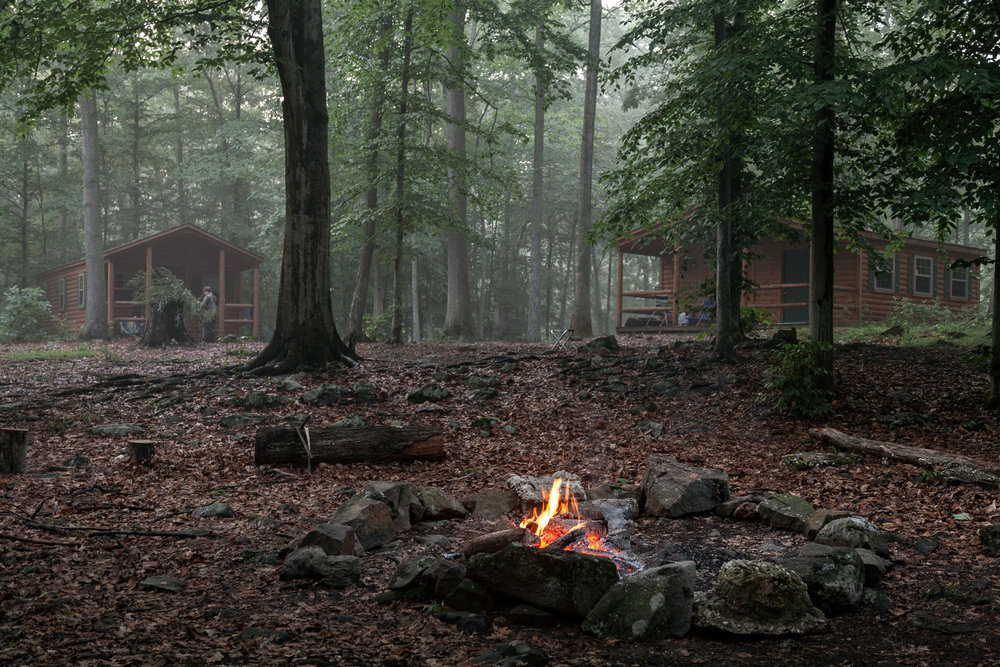 Primitive Survival Camp for The Washington Post Magazine