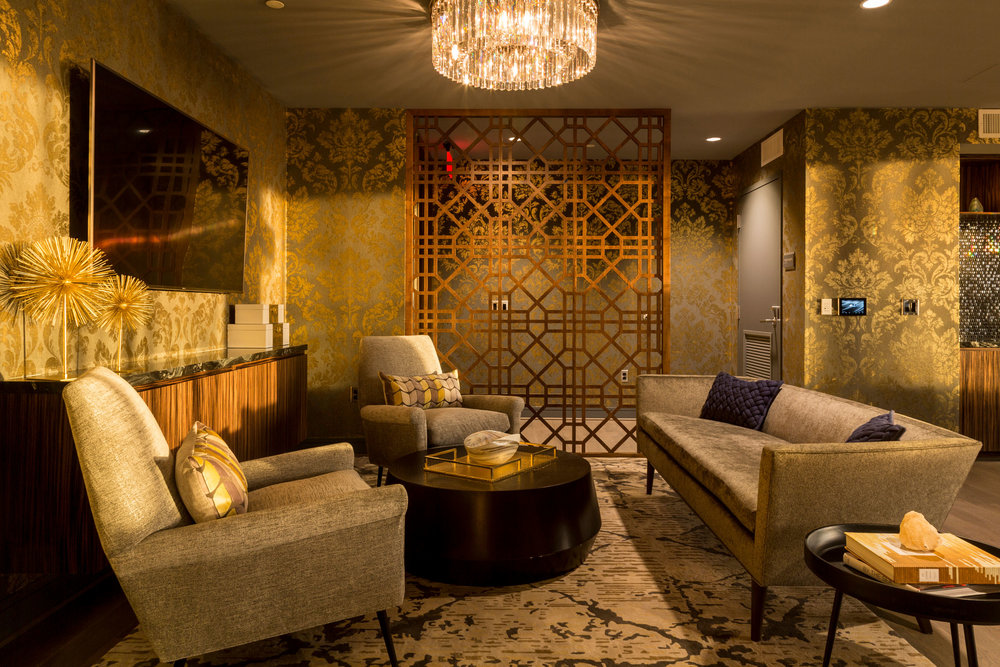 Condominium Lounge at the Wharf DC