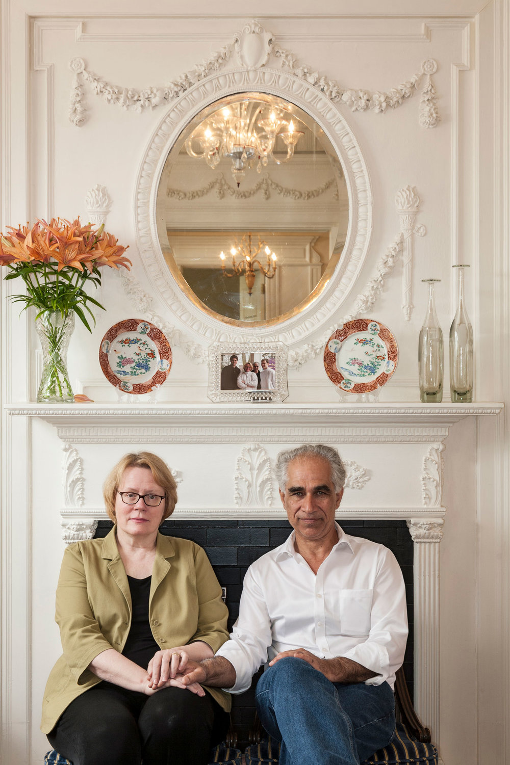 Lara and Raymond Saba, owners of Embassy Circle Guest House
