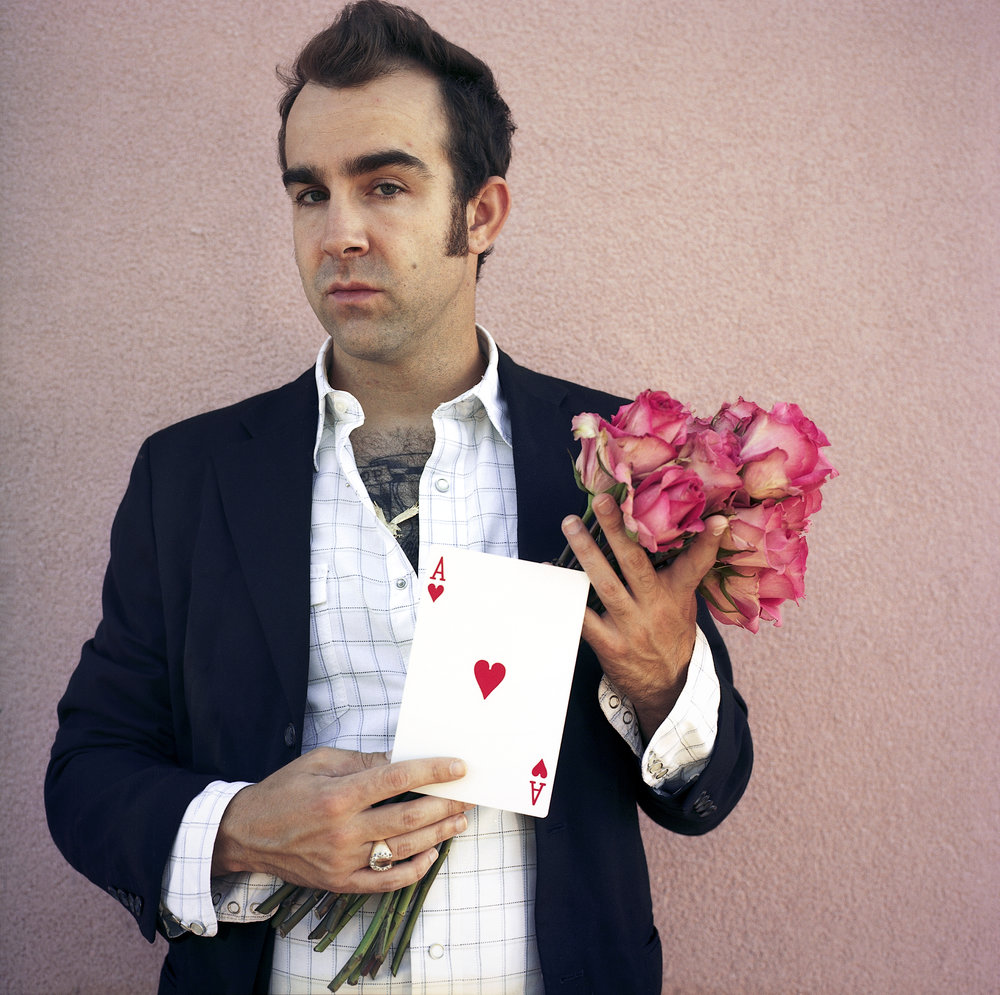 Frank with Roses