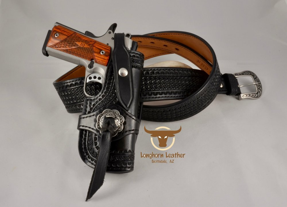 """Kingman"" - 1911 Holster & Gun Belt"