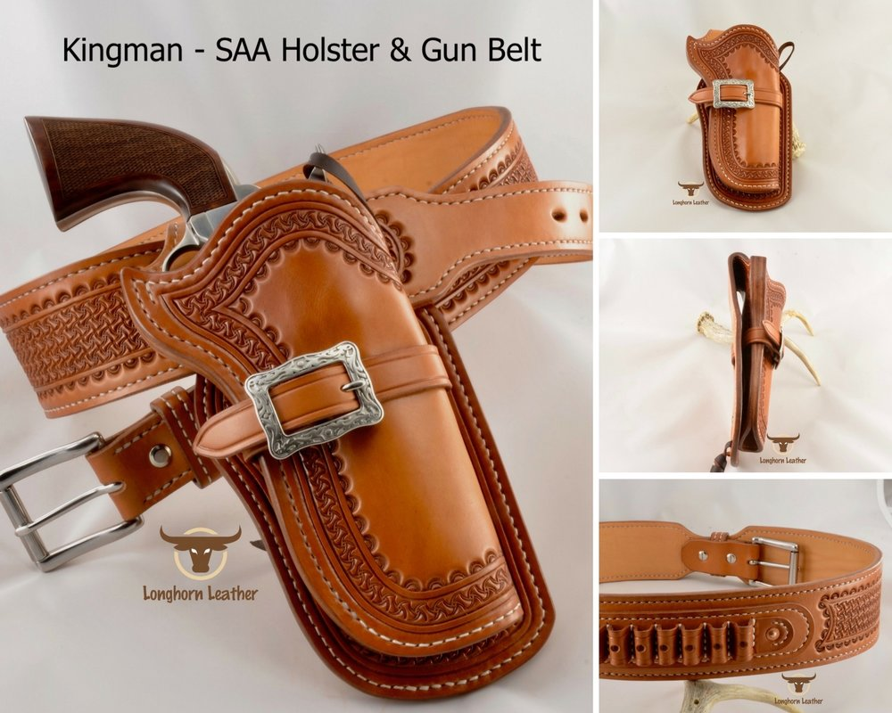 Kingman - SAA Holster & Gun Belt