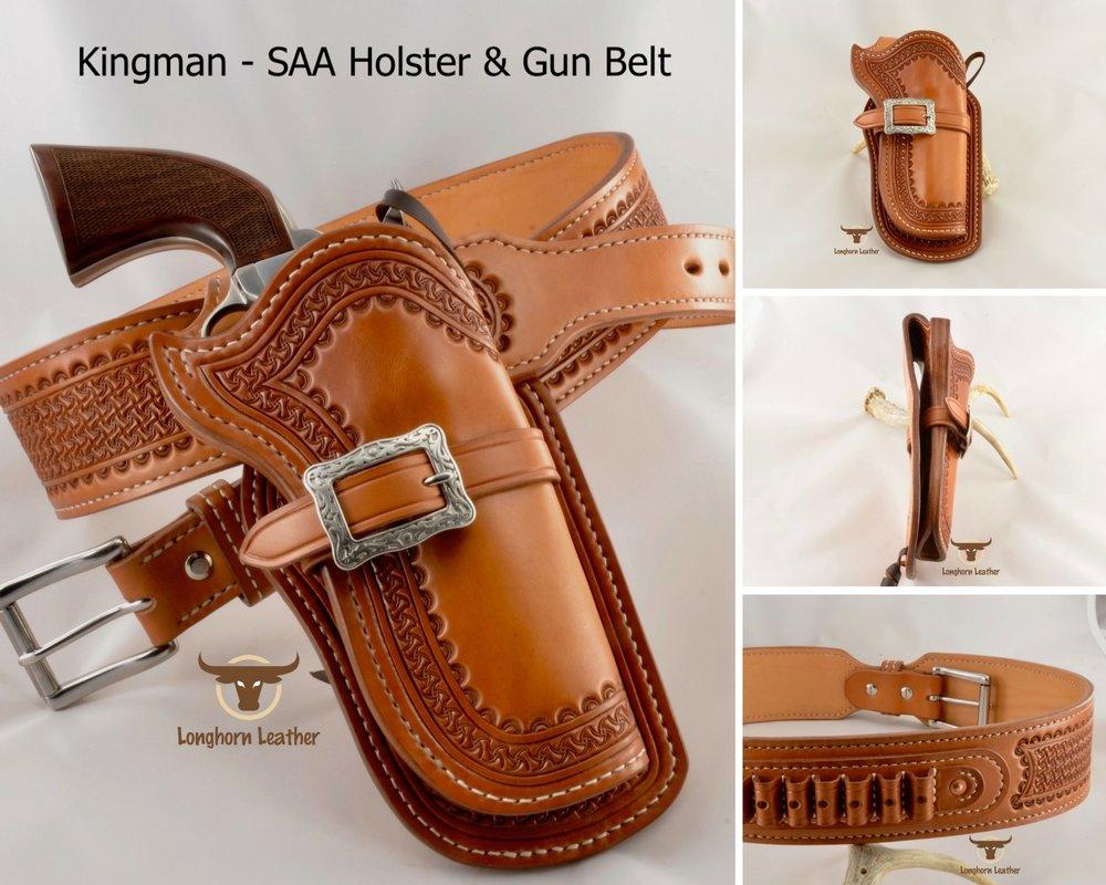 Kingman - SAA Holster & Gun Belt