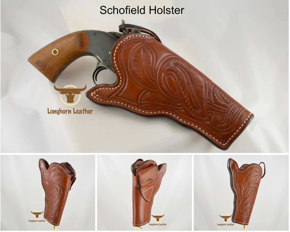 Schofield Cross Draw Holster