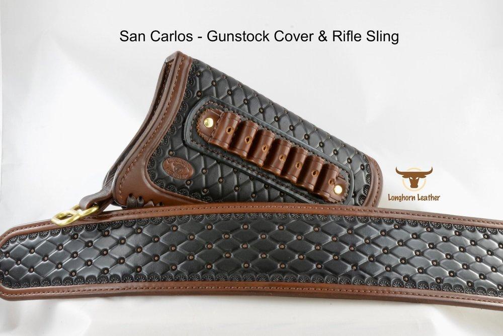 San Carlos - Gunstock Cover & Rifle Sling