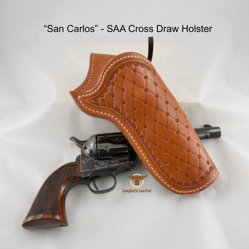 San Carlos - Single Action Cross Draw Holster