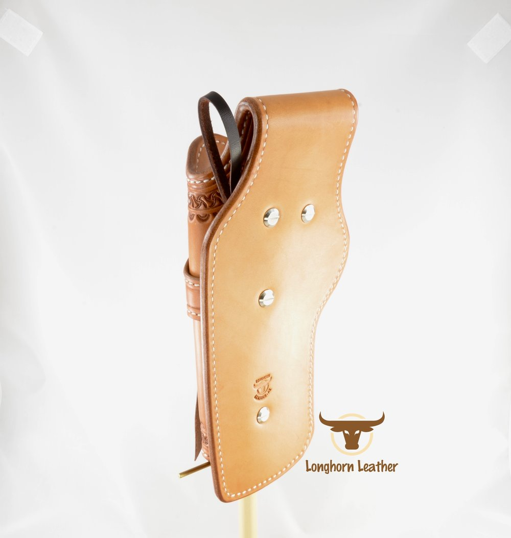 Longhorn Leather AZ - Ruger GP100 holster featuring the %22Kingman%22 design. 7.jpg