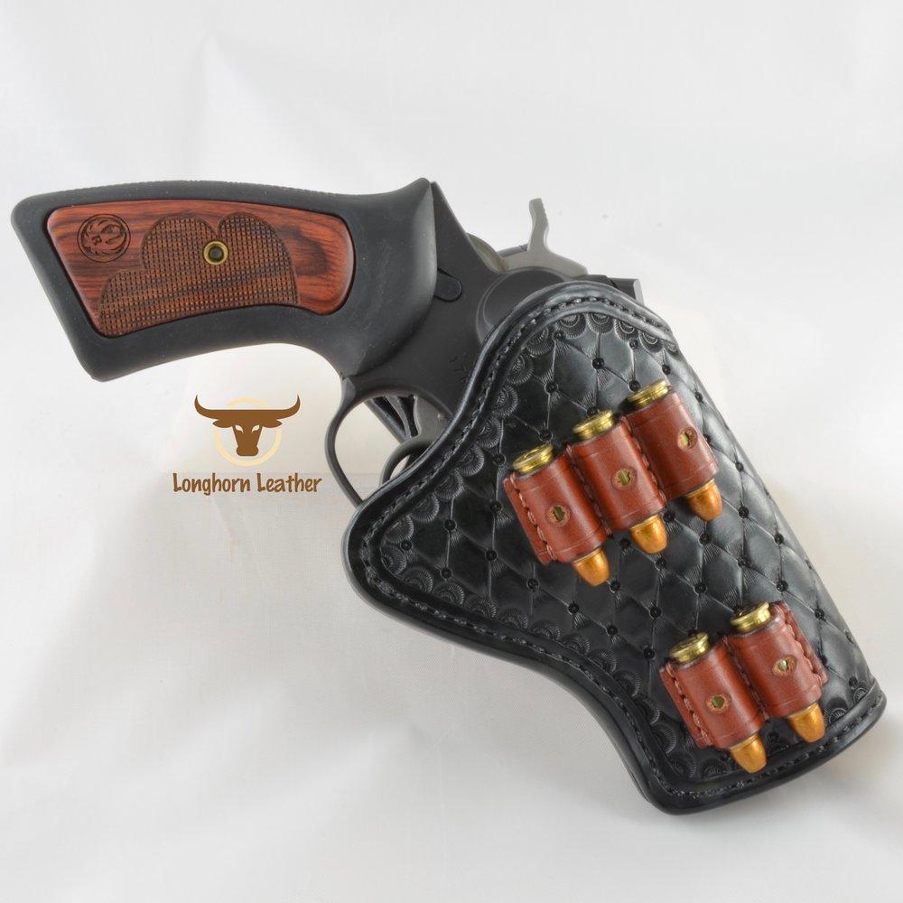 Longhorn Leather AZ - Ruger GP100 holster featuring the %22Abilene%22 design 5.jpg