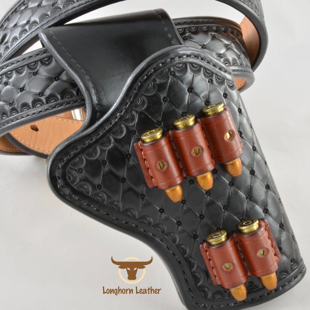 Longhorn Leather AZ - Ruger GP100 holster featuring the %22Abilene%22 design 15.jpg