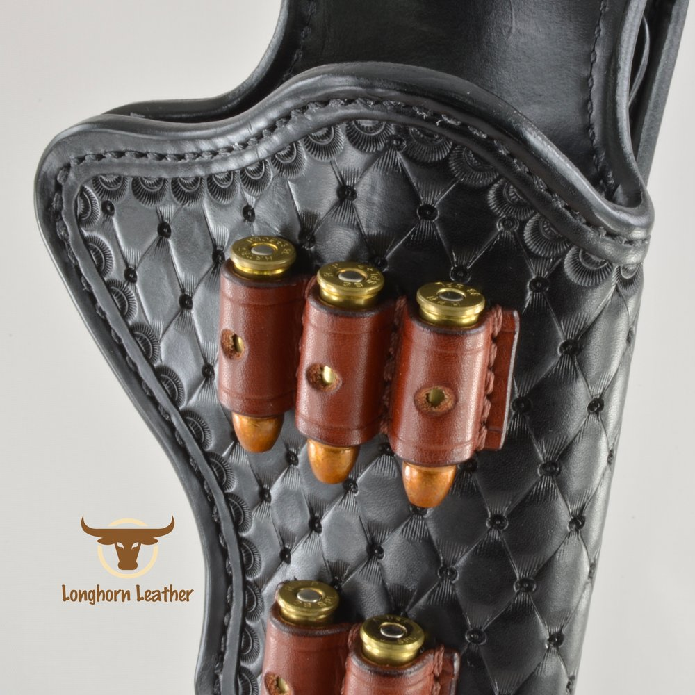 Longhorn Leather AZ - Ruger GP100 holster featuring the %22Abilene%22 design 13.jpg