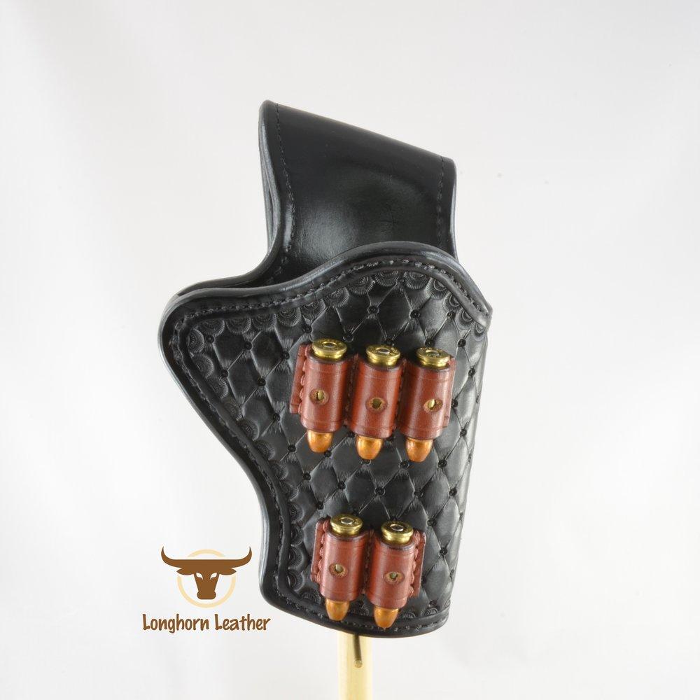 Longhorn Leather AZ - Ruger GP100 holster featuring the %22Abilene%22 design 8.jpg