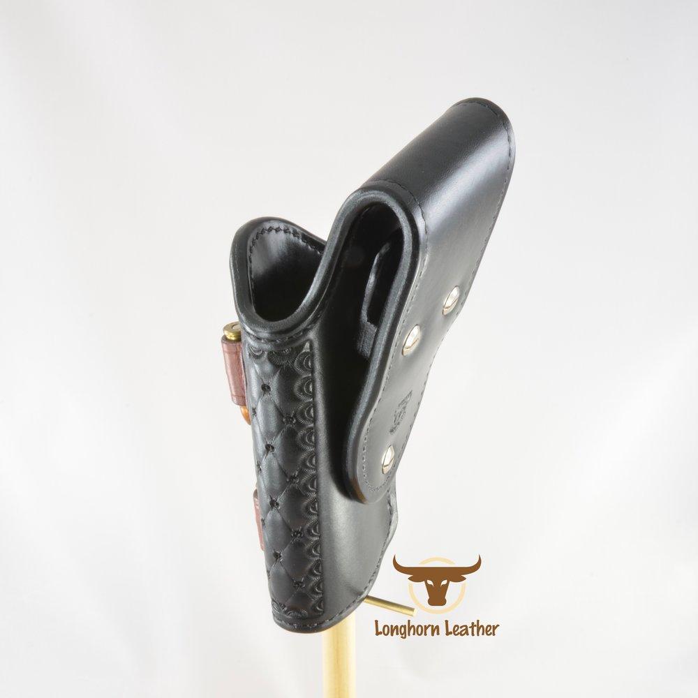 Longhorn Leather AZ - Ruger GP100 holster featuring the %22Abilene%22 design 10.jpg