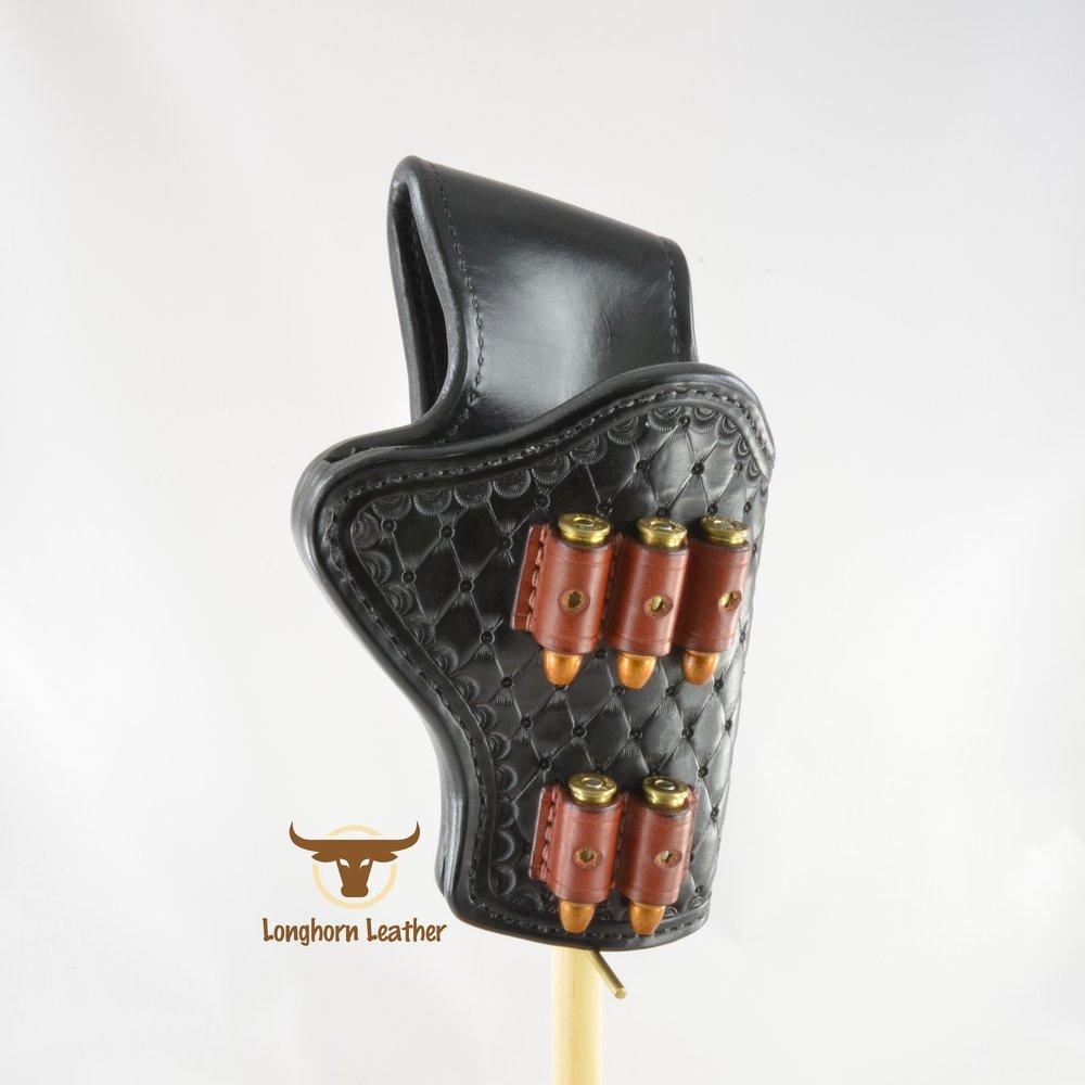 Longhorn Leather AZ - Ruger GP100 holster featuring the %22Abilene%22 design 12.jpg