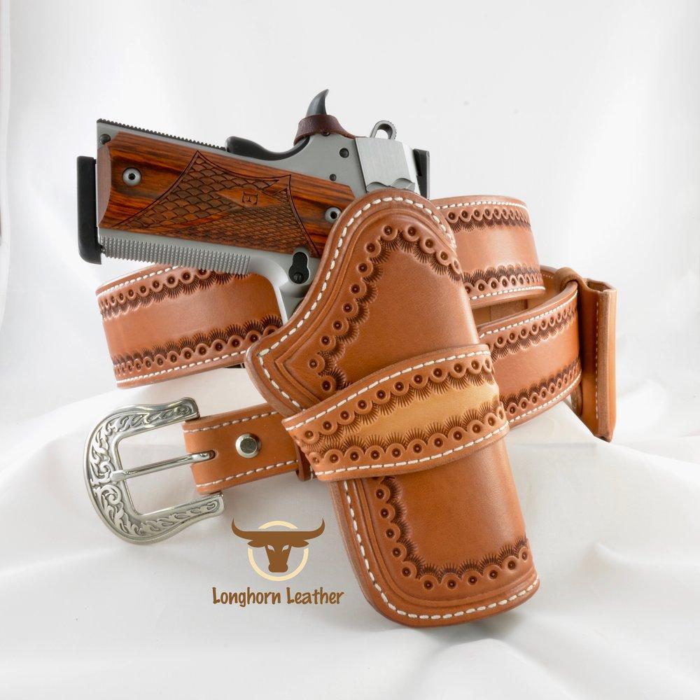 Cimarron - 1911 Holster & Gun Belt
