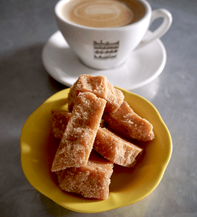 Our house Scottish tablet, delicious with anything