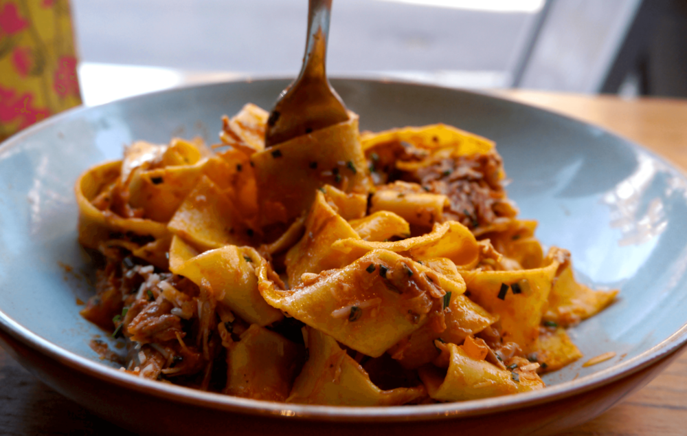 papparadelle with duck ragu