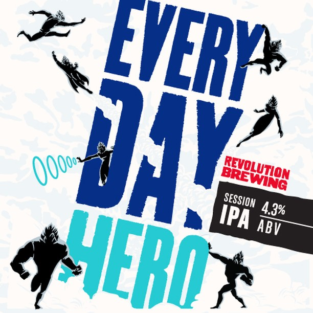Don't forget to sign up for the Revolution bus tour, we are getting close to selling out! Less than 10 spots left!! Revolution Brewing Everyday Hero will be on tap at all the stops for only $3!!! Let's go!  Buy your tickets here!  https://www.brownpapertickets.com/event/4068289